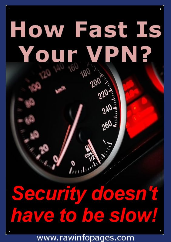How much does a VPN slow down the internet? Speed test results. The whole purpose of a VPN (virtual private network), is to provide privacy and security when using the internet, but this is no use if it slows down the net too much. So how much does it slow down?