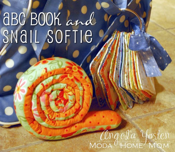 ABC Book and Snail Softie « Moda Bake Shop