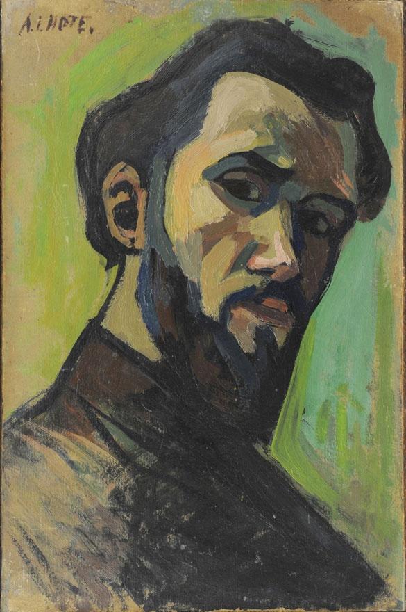 André Lhote : Autoportrait - 1908
