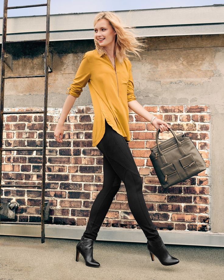 #reitmans2015 September 10 2015 - mustard & black