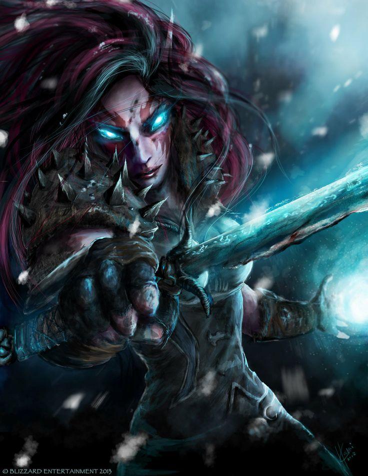 World of Warcraft Tribute : Winter's Bite by *Wreckquiem on deviantART