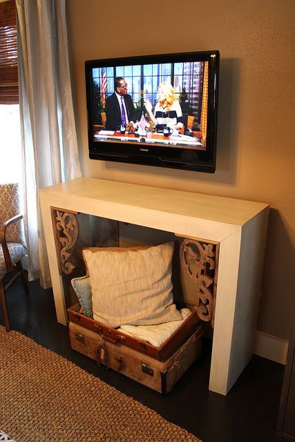 Best 25 hiding tv wires ideas on pinterest hide tv for Disguise tv on wall