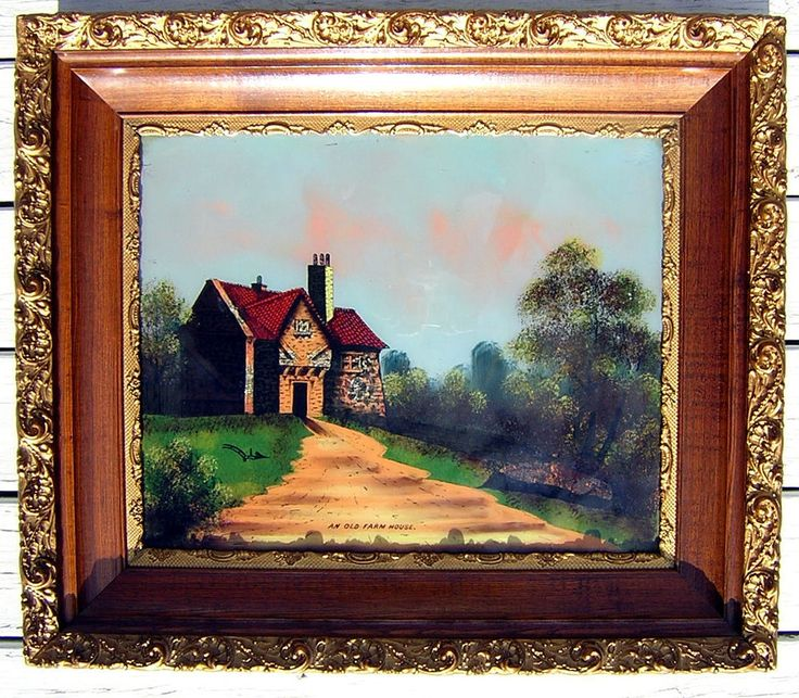 Old Mill Antique Mall Home: 143 Best Reverse Painting On Bubble Glass Images On