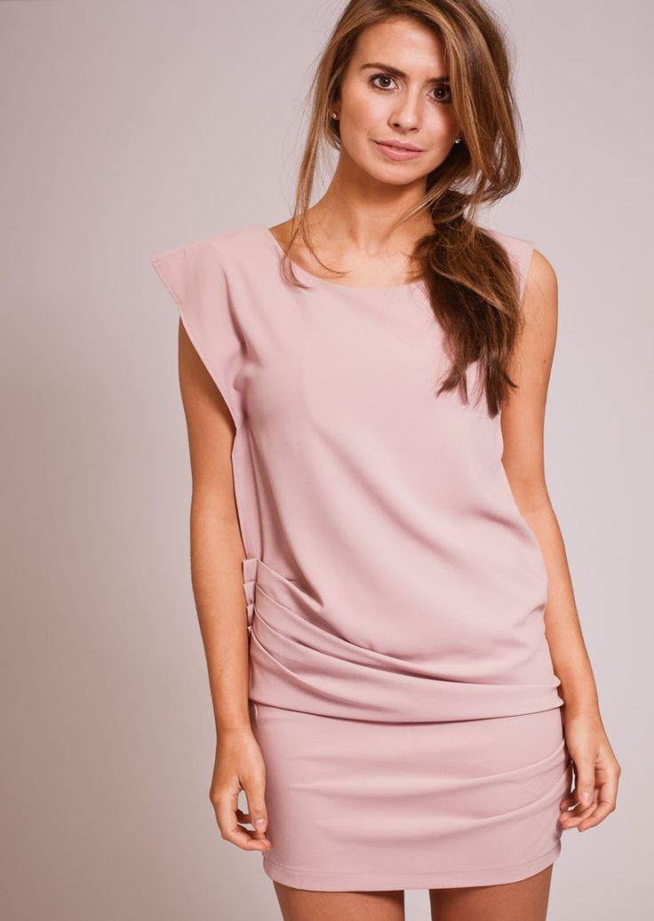 Short Dress in pink or black.  Price only £9 to clear remaining stock.