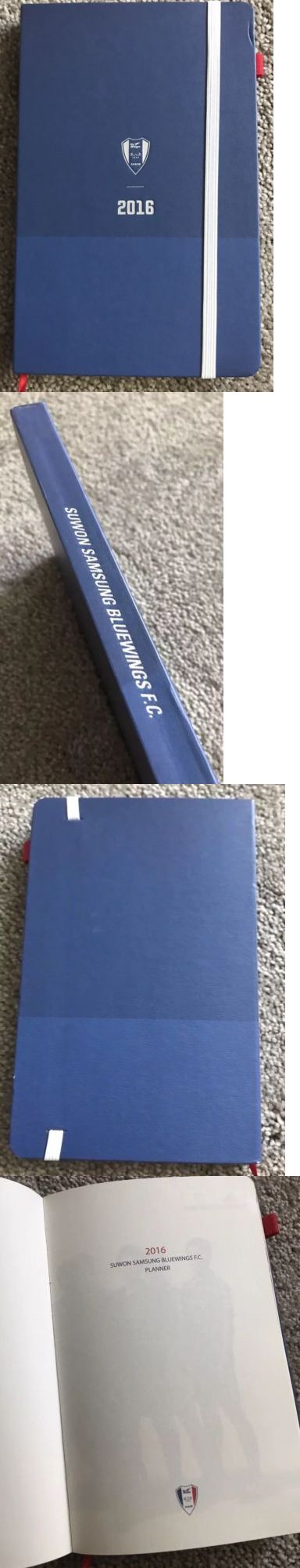 Other Soccer Clothing and Accs 159179: Suwon Samsung Bluewings Planner Diary 2016 Authentic Rare Limited Edition -> BUY IT NOW ONLY: $50 on eBay!