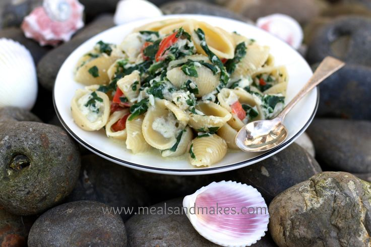 Quick and light fish/pasta dish.  Ideal for family mealtimes.