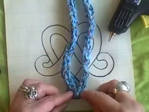Lucet techniques Part 6 - Celtic Interlace Hearts by Noreen Crone-Findlay on YouTube. 05/28/14