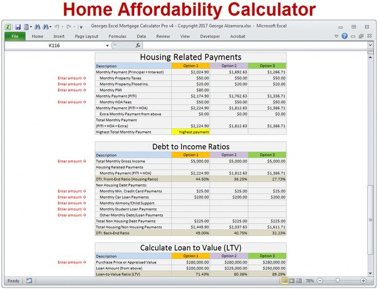 Home Affordability Calculator To Determine How Much House You Can