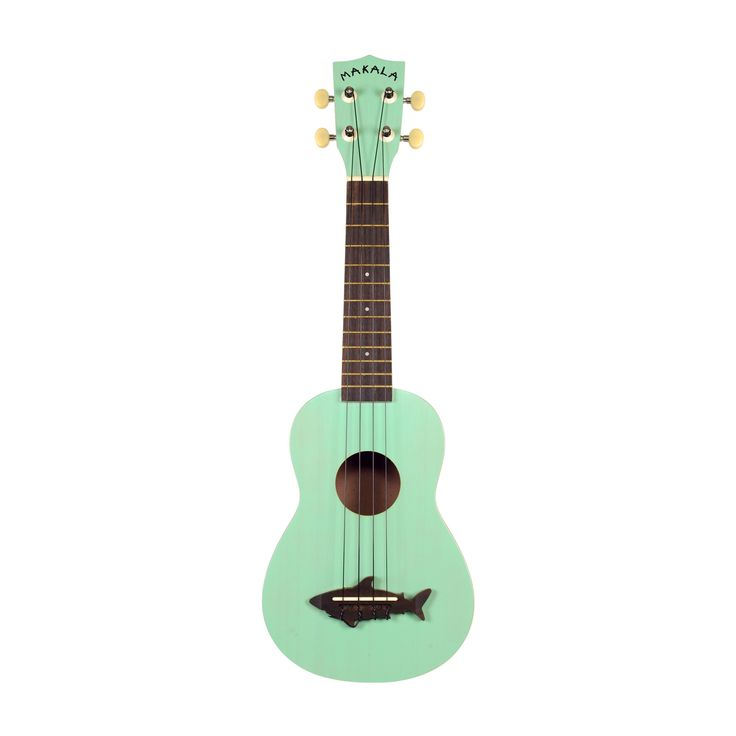 Amazing little guitar by our friends at Kala Ukuleles. This Surf Green colored uke os ready for your next beach party or road trip. Epic starter uke for kids and adults as these have excellent play an