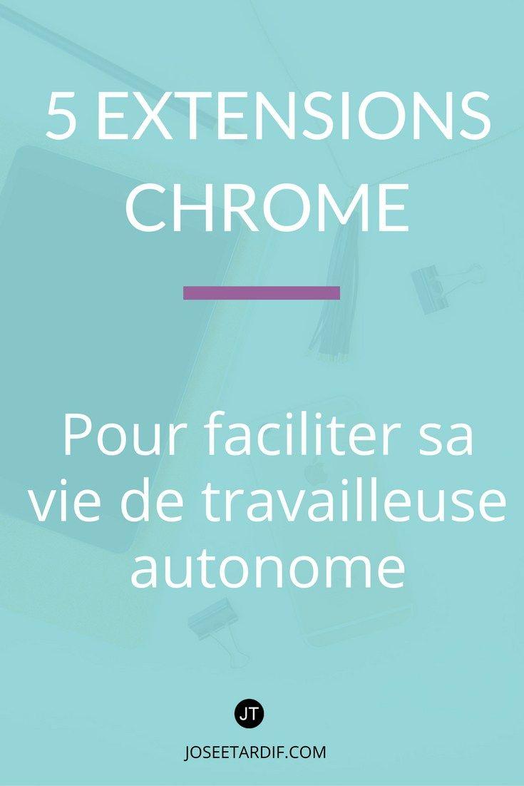 5 extensions Chrome pour gérer sa productivité, s'inspirer et garder le cap sur ses objectifs | Inspiration | Productivité | Organisation du travail