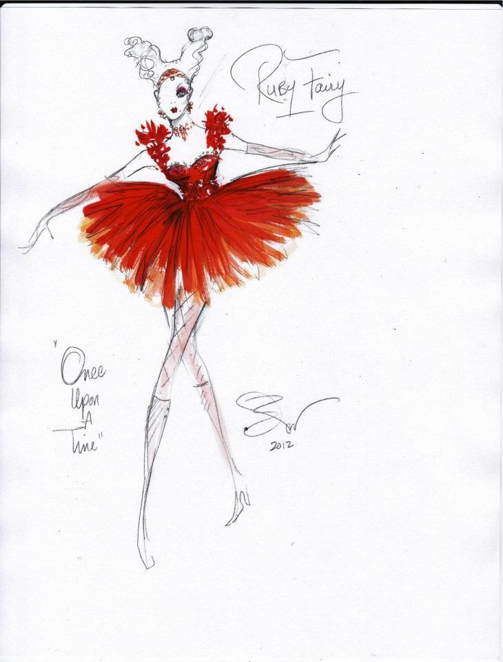 Once Upon A Time costume designs - very cool!