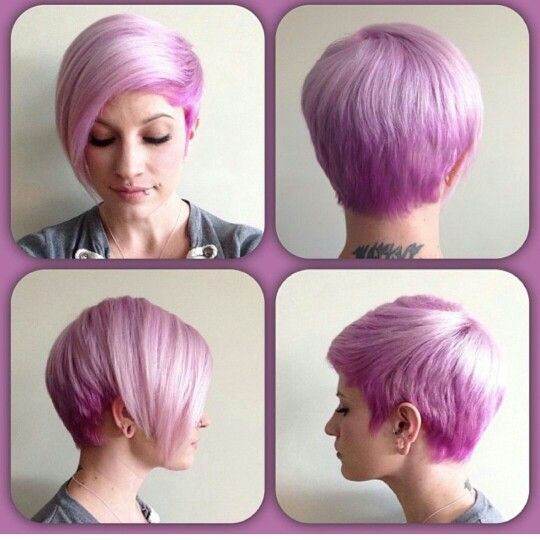 undercut haircuts for pink pixie pixies with color highlights 4956