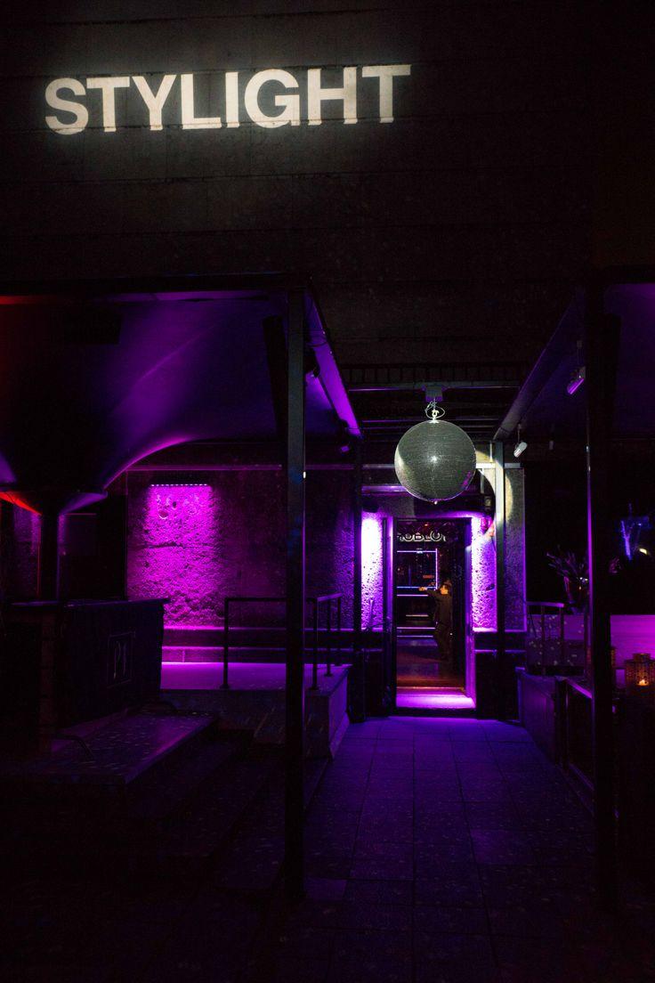 P1 Club  #munich #balloons #purple #party #stylight