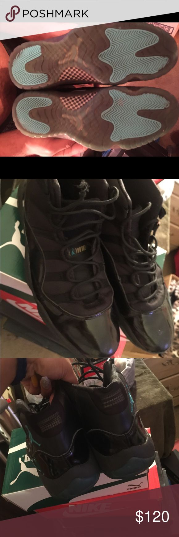 Jordan 11's Gamma Blues Wore 3-4 times but still I️n okay position very comfortable also very hard to find in stores ! Open to offers and trades! Jordan Shoes Sneakers