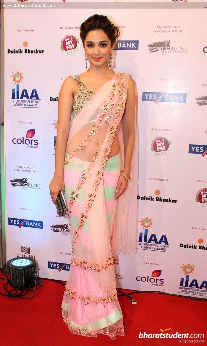 Kiara Advani in saree #saree #sari #blouse #indian #hp #outfit #shaadi #bridal #fashion #style #desi #designer #wedding #gorgeous #beautiful