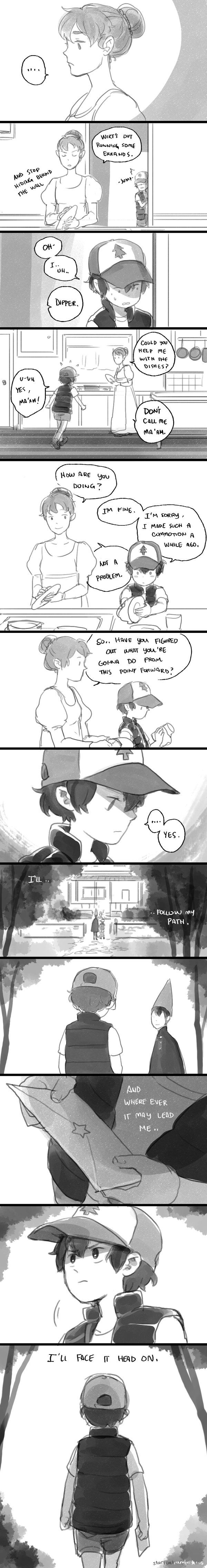 Over the Garden Wall Au - Garden Falls Chapter 9 宇宙艦隊RAMBO
