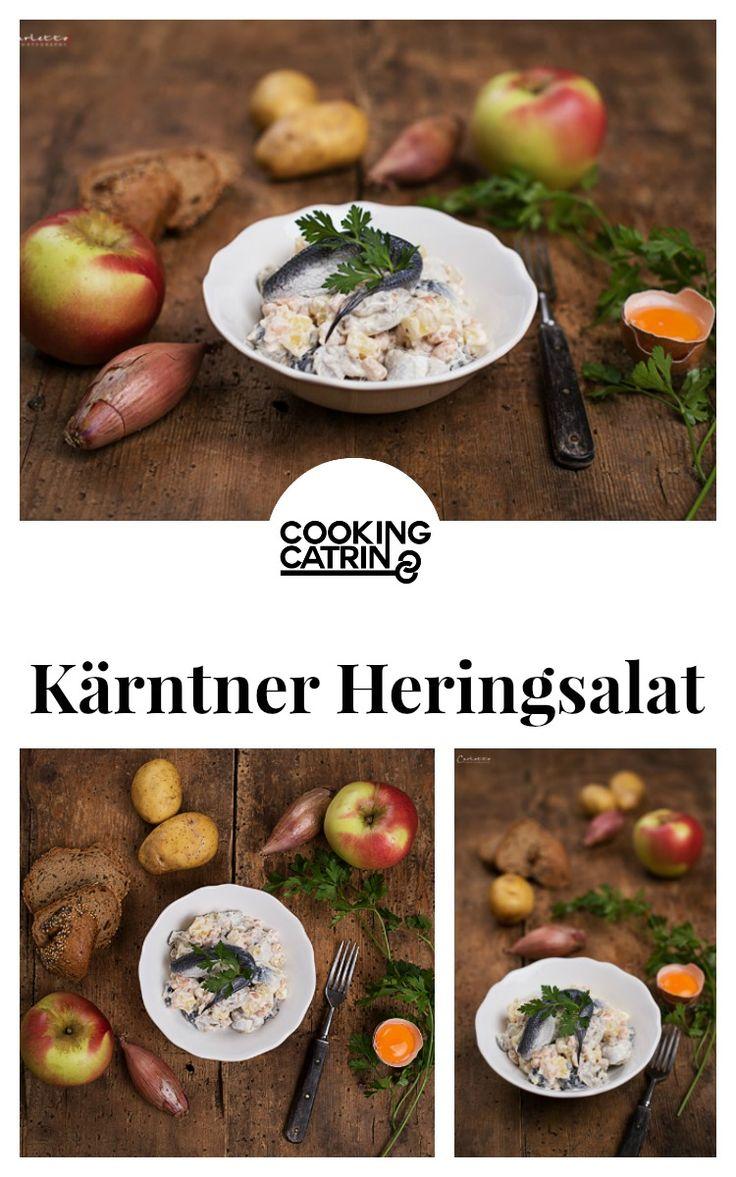 Heringsalat, Traditionsrezept, Fastenzeit, Faschings Rezept, Rezept aus Kärnten, Rezept aus Österreich, Heringsalat traditionell, traditional recipe, austrian recipe, recipe from austria, carnival recipe...http://www.cookingcatrin.at/heringssalat-kaernten/