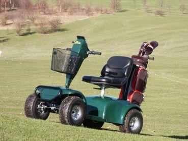 Golf Cart Handel - Elektro Golfcaddy Birdie XL NEUFAHRZEUG Golf Cart / Golfcar mehr Infos unter: www.golfcarthandel.de