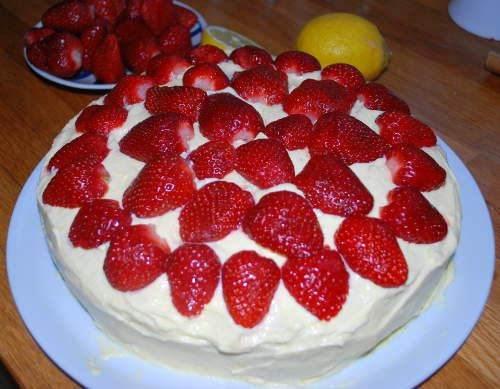 Epres-gluténmentes torta
