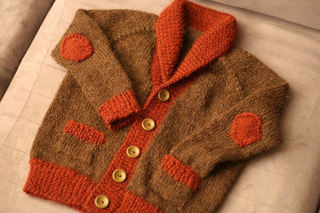 Gramps sweater, all done! by jennifercloss, via Flickr