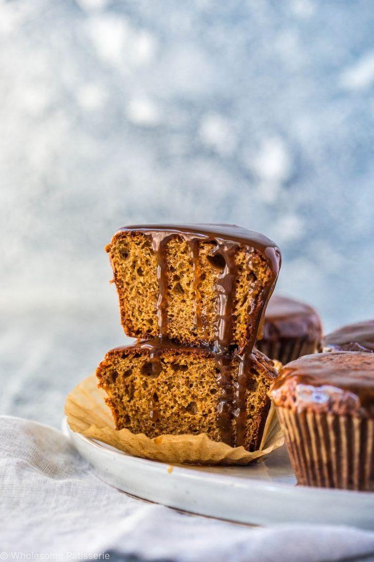 caramel-protein-muffins-vegetarian-gluten-free-delicious-bondi-protein-powder-vegan-caramel-sauce