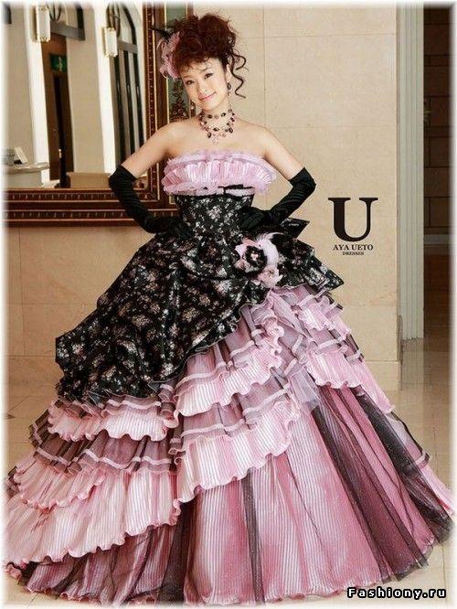 Платье из японии фото