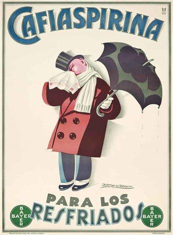 CAFIASPIRINA, PARA LOS RESFRIADOS par Achille Mauzan