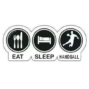 Eat, sleep, handball