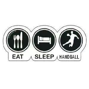 Eat, sleep, handball