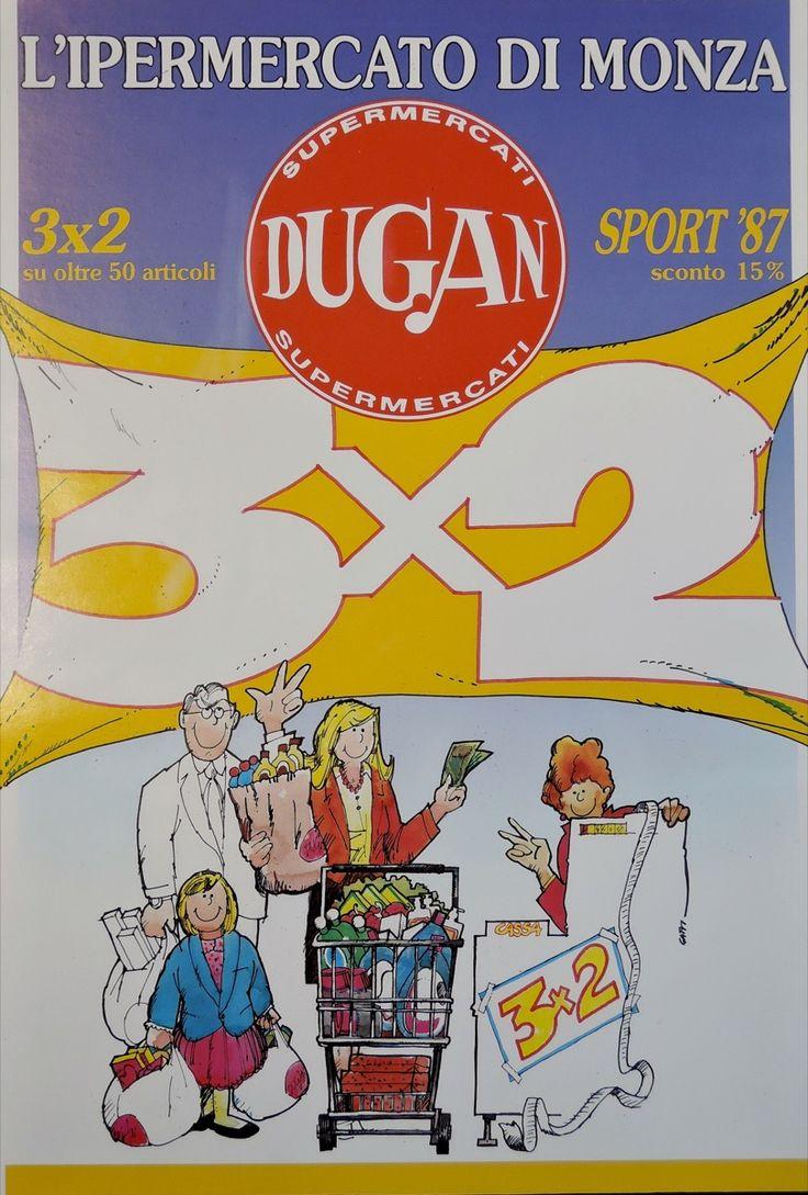 1983. Illustrazione per supermercato Dugan • GianVincenzo Gatti