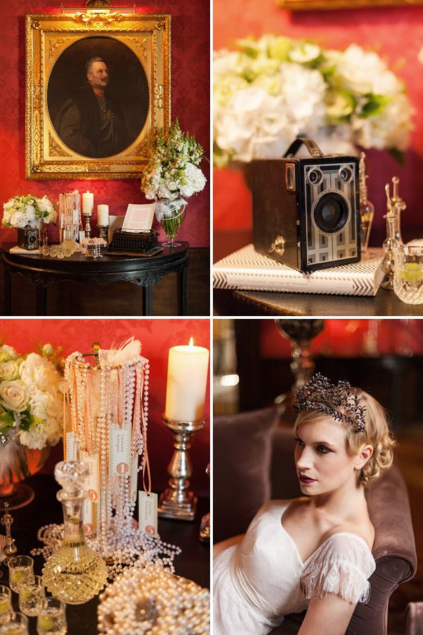 Roaring 20s Great Gatsby Wedding Inspiration