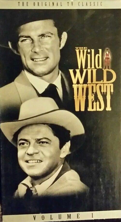 The Wild Wild West Vol. 1 (VHS, 1992) Robert Conrad ***FREE SHIPPING***