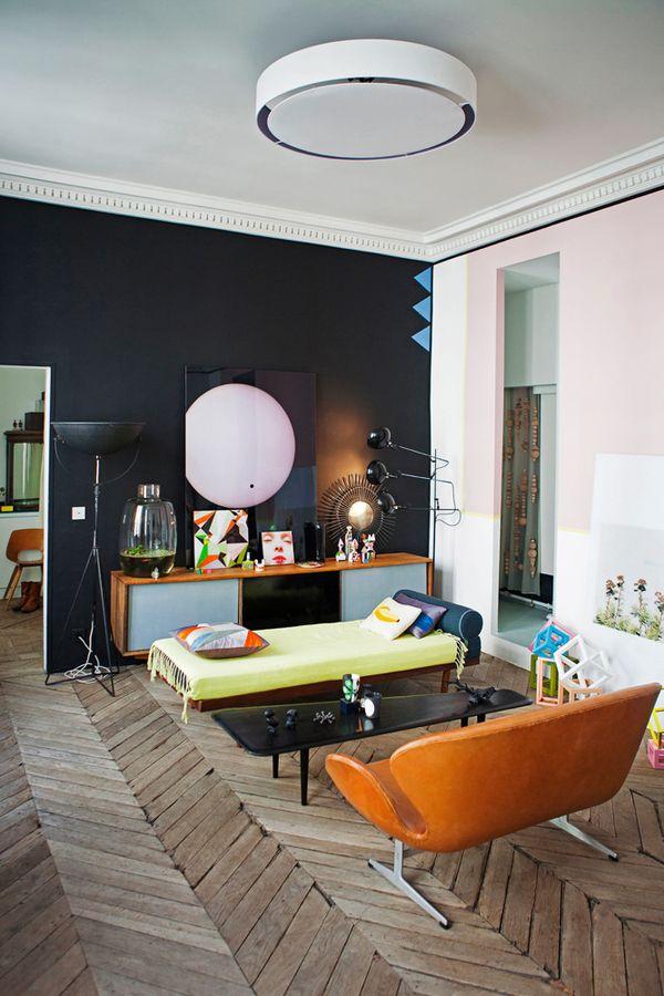 L'appartement laboratoire d'idées de Jean-Christophe Aumas