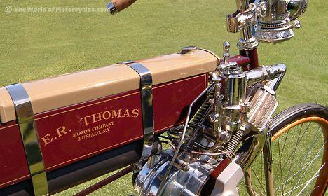 Vintage 1901 E. R. Thomas Auto-Bi