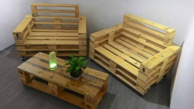 Pallets sofa , furniture from pallette