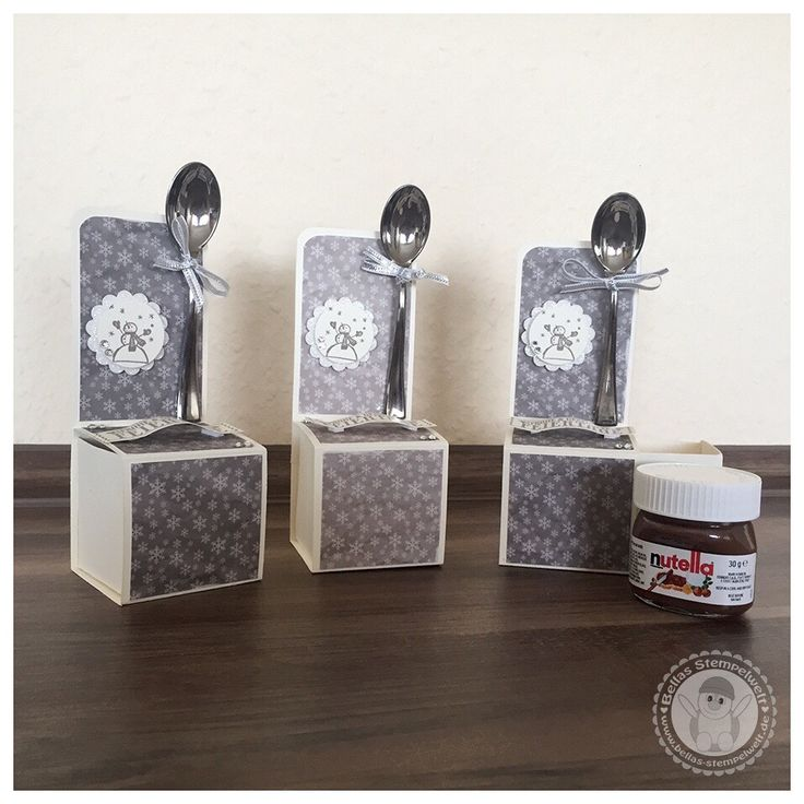 Stampin' Up! - Mini Nutella Verpackung - Bellas Stempelwelt