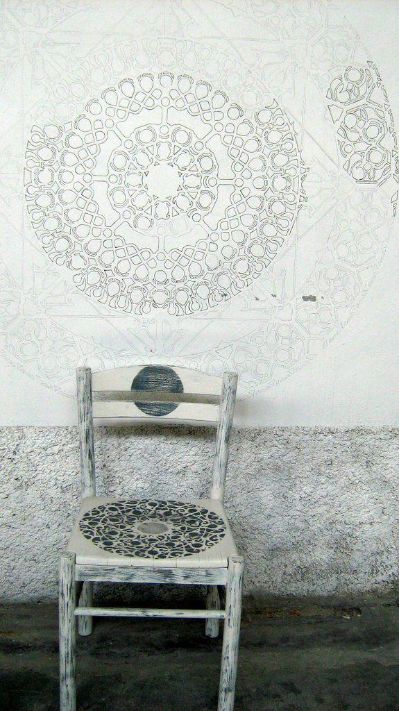 painting    wall design    mandala    original design