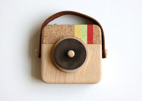 Wooden Instagram camera for kids - so cool!