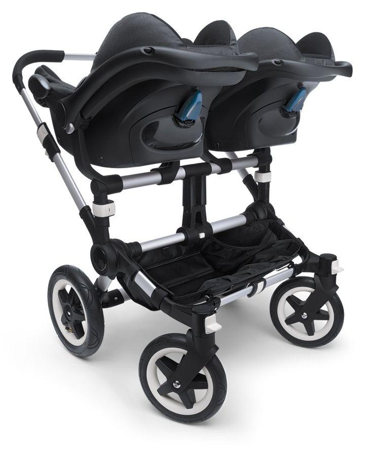 Bugaboo stroller with Maxi-cosi car seat