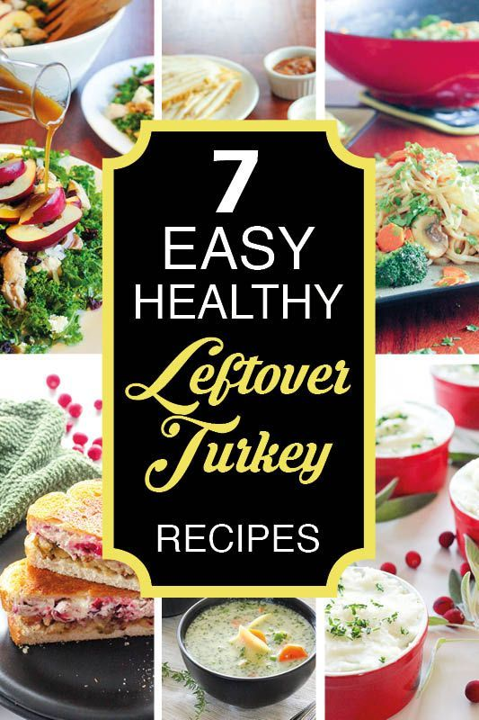 These easy, healthy leftover turkey recipes are the best! Whether you're looking for ways to use up Christmas or Thanksgiving leftovers, or just a rotisserie chicken, these quick recipes are perfect for dinner tonight, lunch tomorrow, or for the freezer! Whether you want a casserole, salad, sandwich or pasta, we've got you covered! #leftoverturkey #leftoverturkeyrecipes #easyfreezermeals #easydinner #easysupper #easyrecipes #healthyrecipes #easyhealthyrecipes