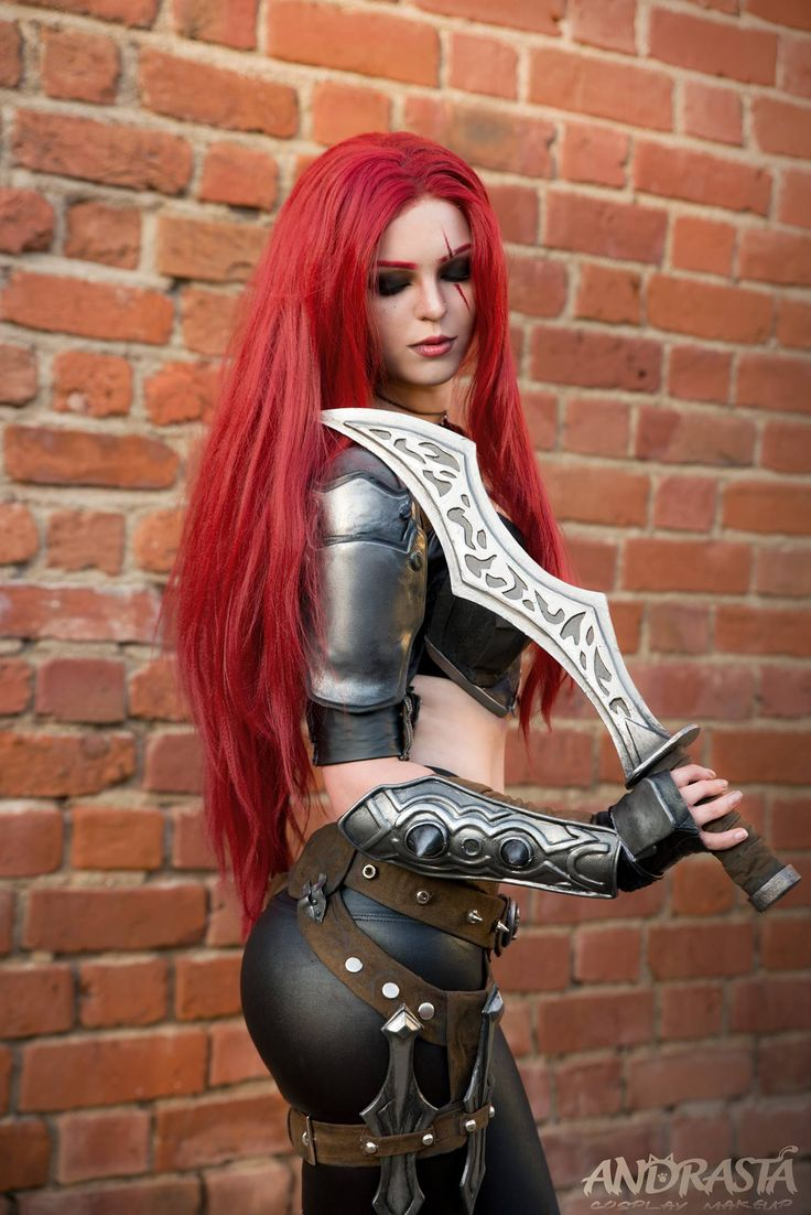 17 Best images about VIDEO GAME Cosplay: Katarina (League ...
