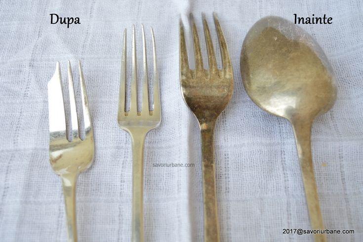 Cum se curata argintul, argintaria, bijuteriile, tacamurile, sfesnicele Savori Urbane