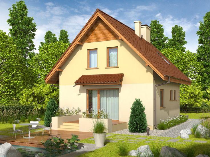 DOM.PL™ - Projekt domu AC Beatka CE - DOM AE2-95 - gotowy projekt domu
