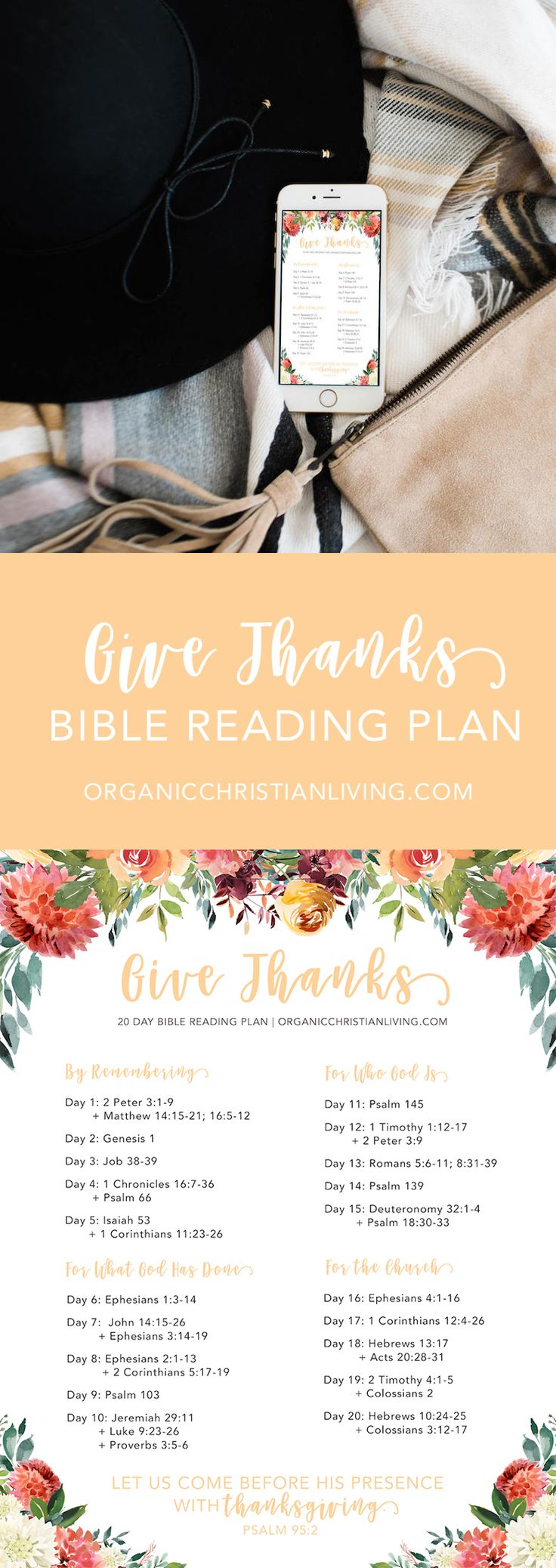 Free Bible Study on Thanksgiving - for your family