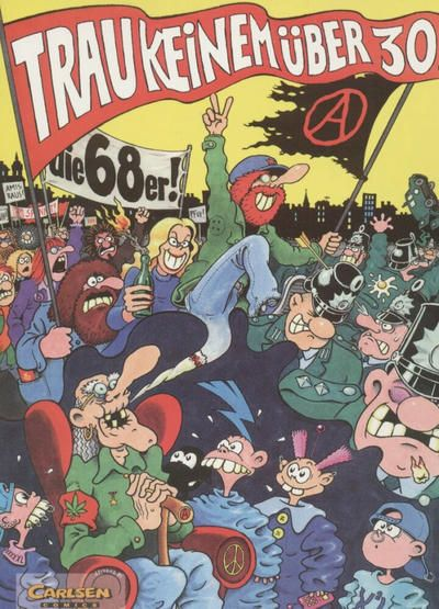 Gerhard Seyfried (born 15 March 1948 Germany) is a political artist and writer whose career began in... Gerhard Seyfried (born 15 March 1948 Germany) is a political artist and writer whose career began in the 1970s in underground comics. He had to leave art school in Munich in 1969 due to violations of the 1968 emergency regulations (the controversial extension of the Basic Law). He became a cartoonist and caricaturist freelancing for commercial and civic work. In 1971 he moved to Berlin and…