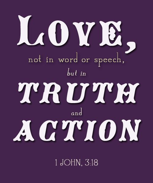 Love In Action Quotes: Inspirational Bible Verses Tumblr