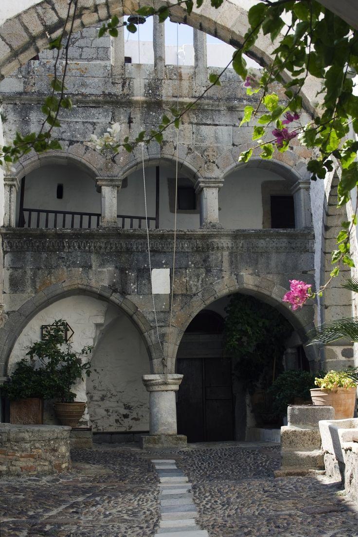 Agios Ioannis church on Patmos island