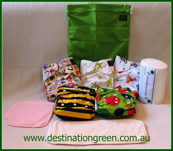 Mini Starter Pack (includes 5 Modern Cloth Nappies) (RRP$92), $75.00 #modernclothnappies, #reusablenappies #clothnappies