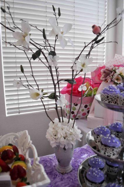 "Photo 12 of 14: Lavender Baby Bird Shower / Baby Shower/Sip & See ""Lavender Baby Bird Shower"""