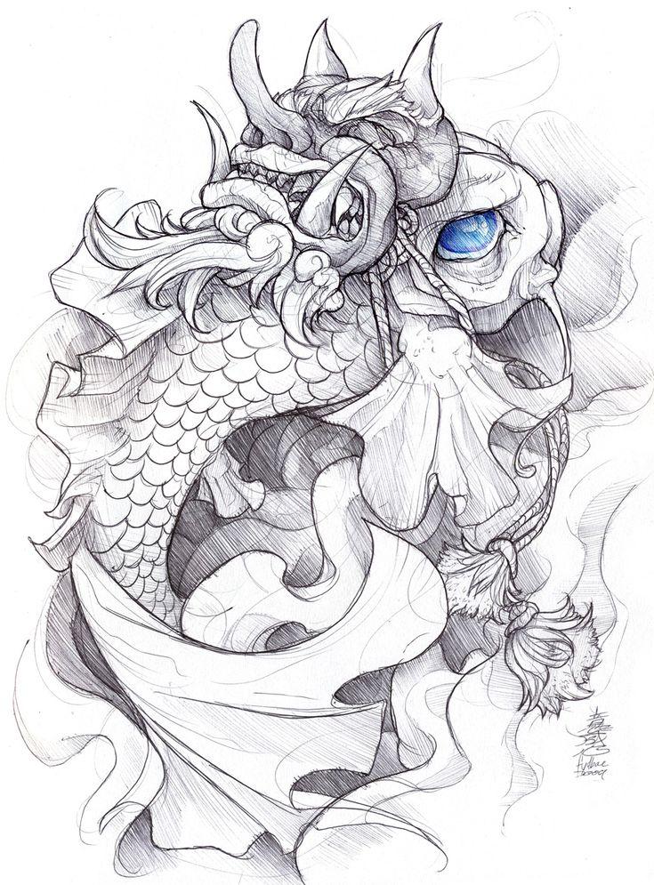 shigeki.zumi: tattoo sketchbook: 012 by fydbac.deviantart.com on @deviantART
